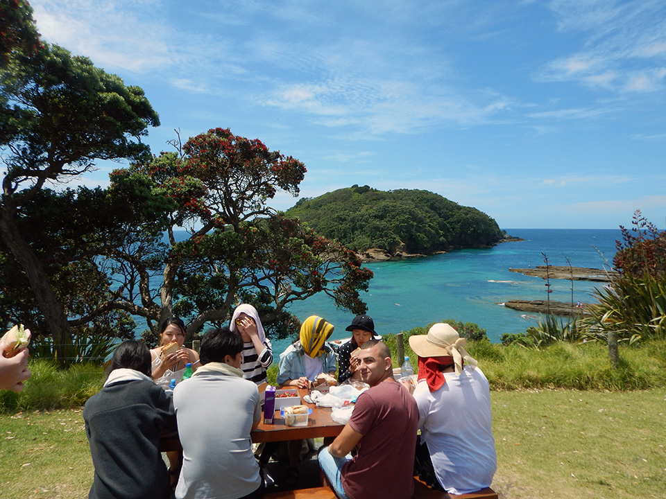 Picnic lunch, Goat Island